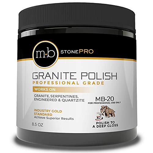 MB-20 Stone Granite Polishing Compound 8.5 Oz.