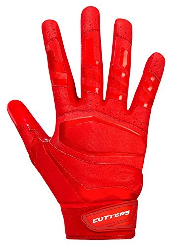 Cutters Gloves, Solid Red, XX-Large by Cutters