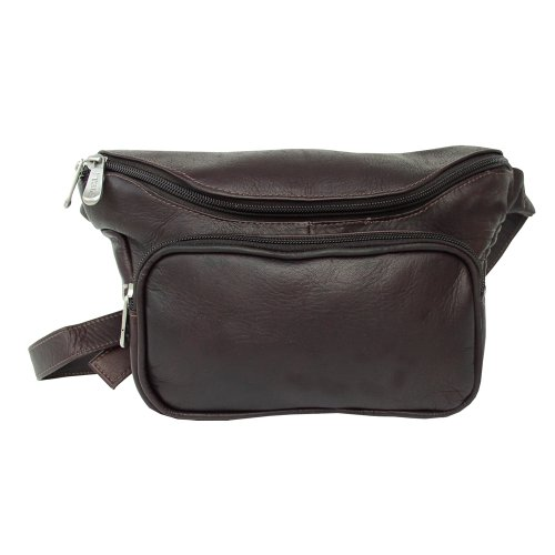 piel-leather-large-classic-waist-bag-chocolate-one-size