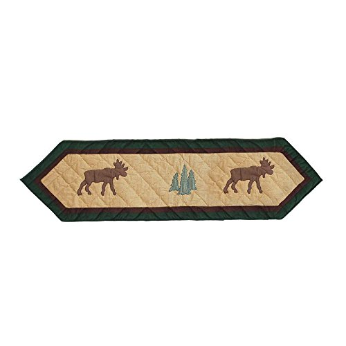 Patch Magic Small Cedar Trail Table Runner, 54-Inch by 16-Inch