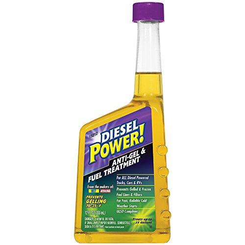 Diesel Power! 15212-6PK Anti-Gel and Fuel Treatment, (Pack of 6)