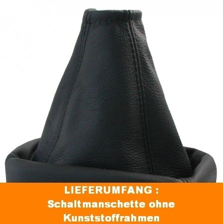 Schaltsack /& Handbremssack Leder passen  Opel Corsa B 1993-2000