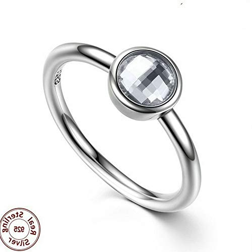 Campton 925 Silver Ring Daisy Flower Women Men White Topaz Wedding Engagement Size 5-10 | Model RNG - 12388 | 5