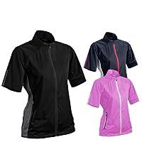 Sun Mountain 2017 Women's Rainflex, Short-Sleeve Jacket
