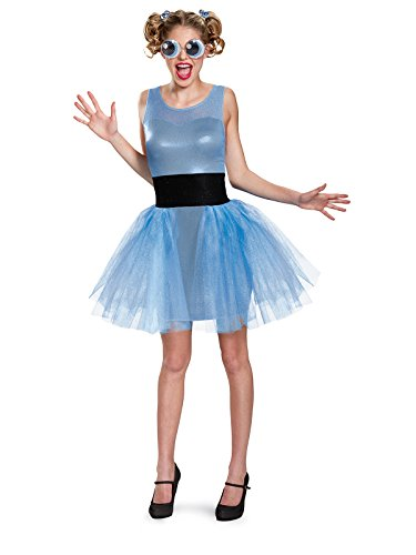 Disguise Women's Bubbles Deluxe Adult Costume, Blue,