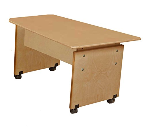Wood Designs WD41500 Adjustable Height Computer Table by Wood Designs