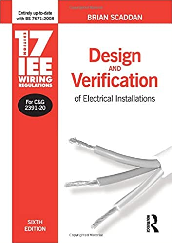 Outstanding 17Th Edition Iee Wiring Regulations Design And Verification Of Wiring Database Gramgelartorg