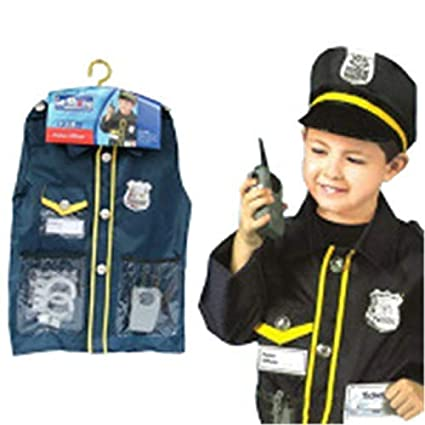 THEE Disfraz de Policía para Niños de Halloween: Amazon.es ...
