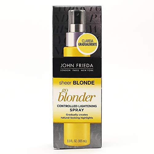 John Frieda Sheer Blonde Go Blonder Controlled Lightening Spray, 3.5 Ounces