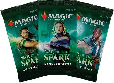 Magic The Gathering War of The Spark 3 Booster Packs