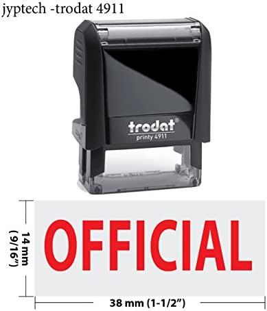 Hot New Trodat 4911 Self Inking Rubber Stamp w
