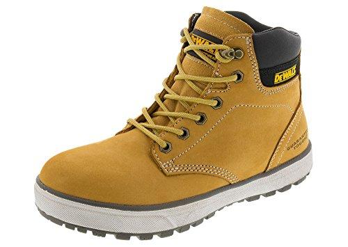 (DEWALT Men's Plasma Steel Toe Work Boot (9.5 D(M) US, Wheat))