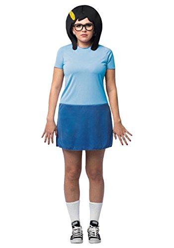 Rasta Imposta Bob's Burgers Tina Costume (One Size fits Most) -