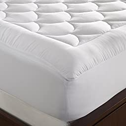 WellRest Magic Loft Cloud Mattress Pad, Twin, White