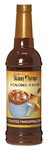 Jordans Skinny Syrups Happy Holidays Gourmet Coffee Syrups (Toasted Marshmallow)
