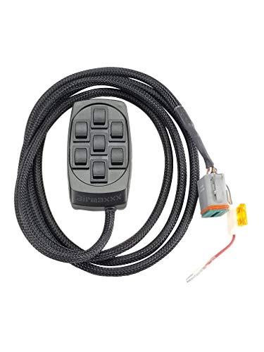 airmaxxx X7 Black 7 Switch Box Controller For Air Ride Suspension