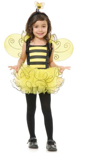 [Charades Costumes Sweet Bee Toddler Costume 2-4T] (Sweet Bee Girls Costumes)