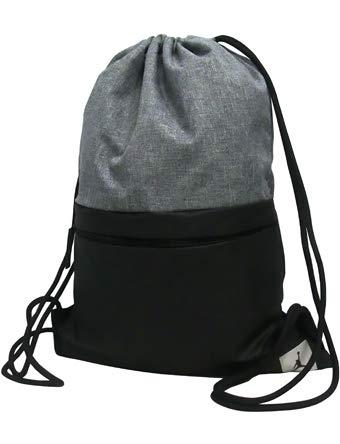 Jordan Big Boys Pivot Drawstring Sack Bag (One Size, Black(9A0084-023)) by Jordan