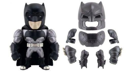 "New Batman V Superman Movies Merchandise - 6"" Metal DieCast (Die-Cast) REMOVAVLE ARMORED BATMAN Action Figures By Jada Toys"