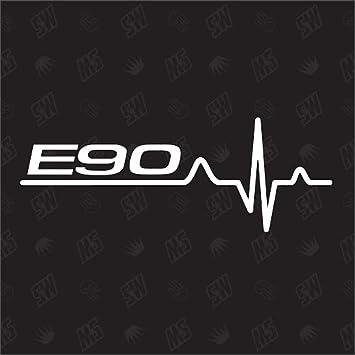 Speedwerk Motorwear E90 Herzschlag Sticker Für Bmw Tuning Fan Aufkleber Auto