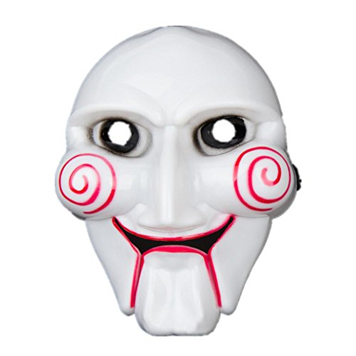 NXDA Grimace Latex Mask Horror Novelty for Halloween Costume Party Decorations (Scary Asian Halloween Costumes)