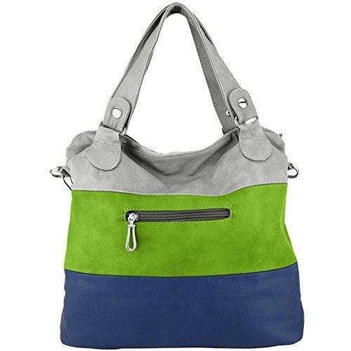 épaule Collection MG à main sac Hobo gris Style Mawar Vert main bleu Sac à Chic 8BdZBHwq