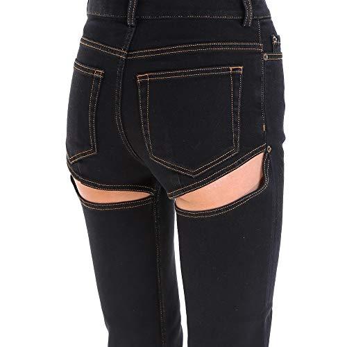 Wjean8f46 Donna Cotone Nero project Y Jeans tqF7x0EwH