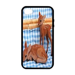 deer Custom Case for iPhone 4,4S (Laser Technology) by runtopwell