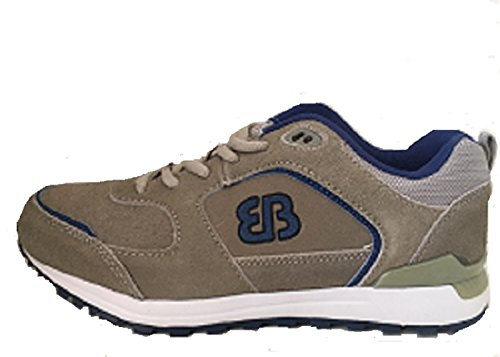 Sportschuhe beige/blau Grösse 39