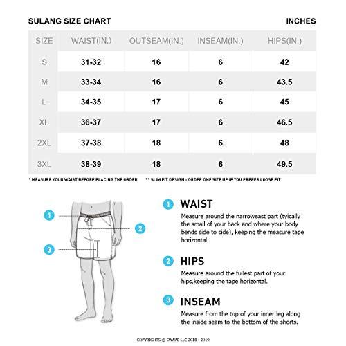 282a196bccf97 SULANG Mens Quick Dry Volley Board Shorts Short Swim Trunks No Mesh Lining:  Amazon.com.au: Fashion