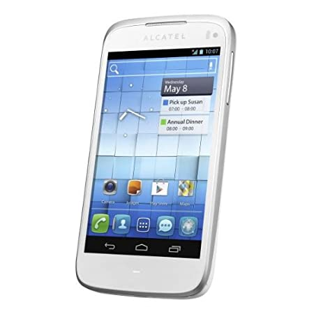 Smartphone ALCATEL ONE TOUCH 997D BLANC