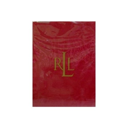 Ralph Lauren Tablecloth Paisley Dressage Red - Oblong Rectan