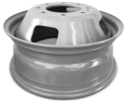 Ford F350SD DRW Dually (05-16) 17 Inch 8 Lug Replacement Wheels Rims 17x6.5 Inch 8 Lug 142mm Center Bore 143mm Offset - Set of 6 by Road Ready Wheels (Image #3)
