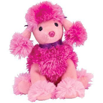 5caeaee6ca5 Amazon.com  Ty Beanie Baby Ooh-La-La the Pink Poodle Dog  Toys   Games