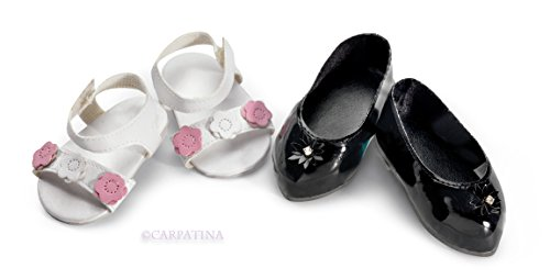 Spring in Your Step - Sandals & Mary Janes - Fits 18