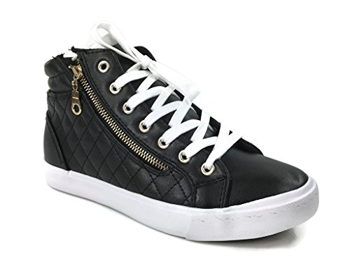 leather high tops - 4