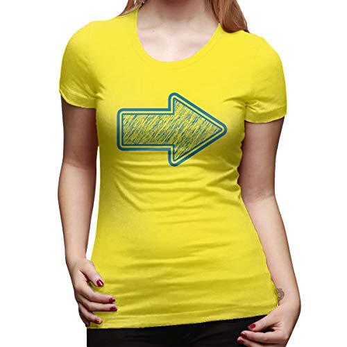 Roberceta Ali Arrow Women's Short Sleeve T ShirtSize 32 Color Yellow (Far Cry 4 Best Price)