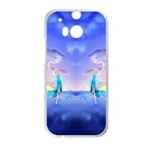 RHGGB Frozen Snow Queen Princess Elsa Cell Phone Case for HTC One M8