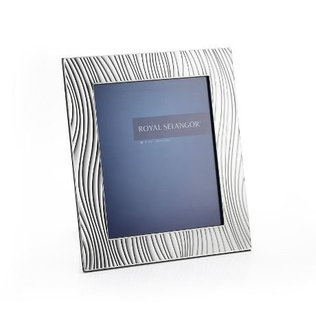 Royal Selangor Hand Finished Mirage Collection Pewter Sand Photo Frame (8R)