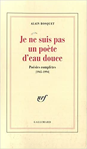 Télécharger en ligne Je ne suis pas un poète d'eau douce: Poésies complètes (1945-1994) epub pdf