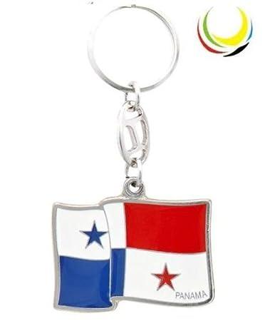 Keychain -PANAMA FLAG