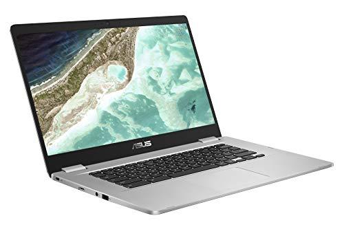 ASUS Chromebook C523NA-DH02 15.6'' HD NanoEdge Display, 180 Degree, Intel Dual Core Celeron Processor, 4GB RAM, 32GB eMMC Storage, Silver Color by ASUS (Image #3)