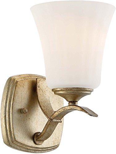 - Minka Lavery Wall Light Fixtures 3441-582 Laurel Estate Wall Bath Vanity Lighting, 1-Light 100 Watts, Brio Gold