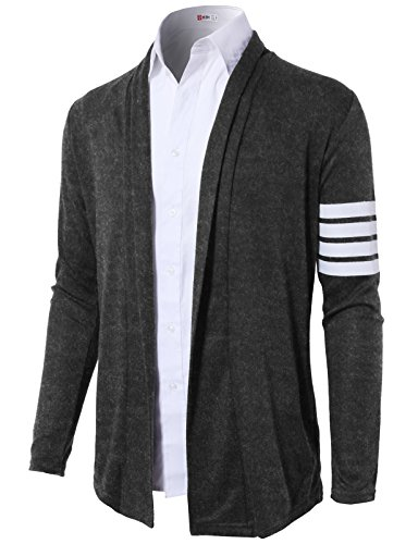 H2H Casual Cardigan Double Collar