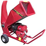 Petrol Garden Chipper | 15HP Petrol Shredder Mulcher | Beaver Chipper Titan Pro