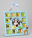 Baby Essentials One Year Baby Frame Jungle Animals