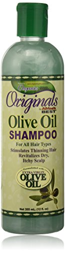 Africa's Best Organics Olive Oil Shampoo, 12 Ounce (Oil Best Olive Africas)