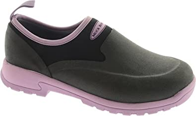68ab6824373d45 Muck Boot Women s Black Lilac Breezy Cool Low Solid 6 B(M) US