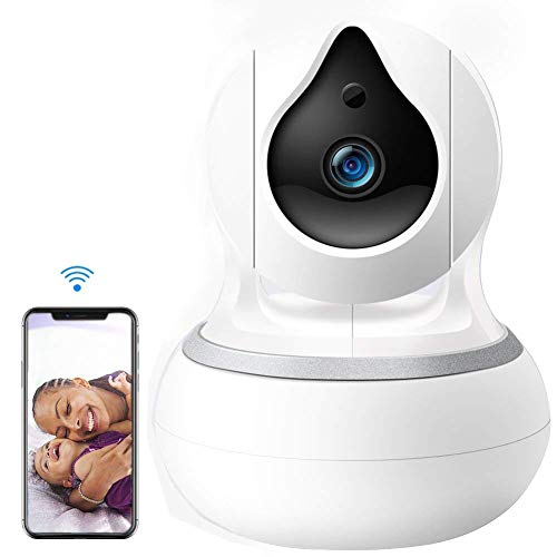 Cheap HD IP Security Camera with Night Vision, N2N 720P Wireless Home Surveillance Camera Systems with Motion Detection, Pan/Tilt/ Zoom & 2 Way Audio for Pet, Nanny Cam, Baby WiFi Monitor