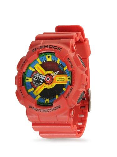 Casio G-Shock Men's Red Analog Digital Watch Ga-110Fc-1A Best Selling